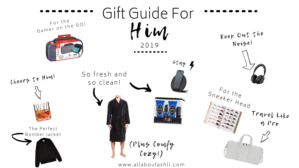 Holiday Gift Guide to Find the Perfect Gift For Your Husband, Boyfriend, Dad or Brother.