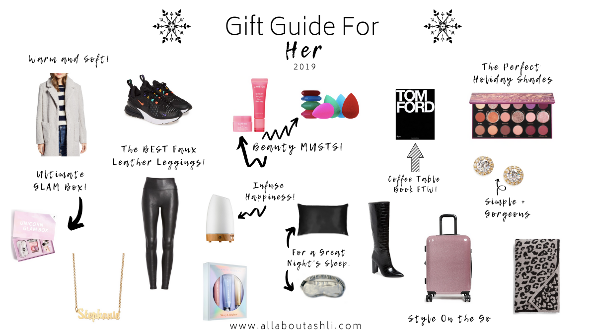 Find the perfect gift for any woman in your life with my holiday gift guide for her.